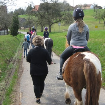 Kiddi - Treck der CV Ponyfarm im April 2018 - 04