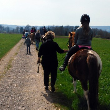 Kiddi - Treck der CV Ponyfarm im April 2018 - 07